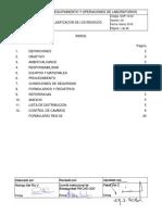 SOP.12.02.V02 Clasificación de Los Residuos