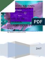 Manual Sas y Spss