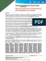 Informe de Emergencia Nº 490 - 20abr2017 - Precipitaciones Pluviales en El Departamento de Tumbes (49)