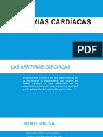 ARRITMIAS CARDÍACAS - MED1