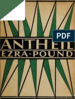 Pound, Ezra - Antheil (Pascal Covici, 1927)