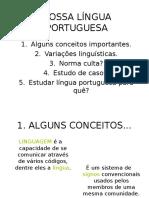 Nossa Lingua Portuguesa