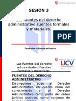 Sesion 3 - Fuentes Del Derecho Administrativo.