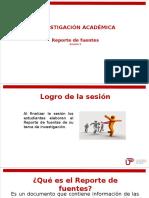 Sesión 05 - Reporte de Fuentes