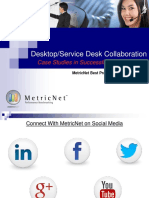 Case Studies - Service Desk and Desktop Support Collaboration