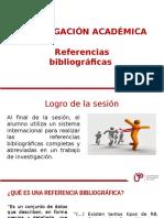 Sesion 08 Referencias Bibliograficas