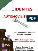 Accidentes automovilisticos