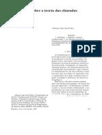Adriano Sant'Ana Pedra - Reflexões Sobre a Teoria Das Cláusulas Pétreas