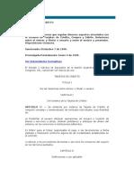 # Ley de Tarjeta de Credito