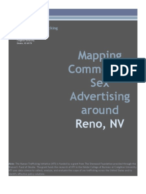 Backpage Reno Nv >> Mapping Commercial Sex Advertising Around Reno Backpage