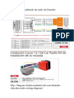 Diagrama de Cableado de Radio de Daimler Chrysler | Verde ... on