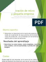 Administración de Micro y Pequeñas Empresas