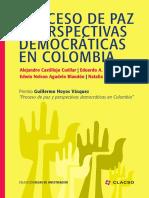 Proceso de paz y perspectivas democráticas en Colombia .pdf