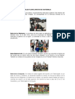 Bailes Florcloricos de Guatemala
