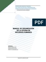 Manual Organizacion Recursos Humanos