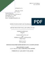 Unified Patents Inc. v. Kamatani Cloud, LLC, IPR2017-01370 (PTAB May 8, 2017)