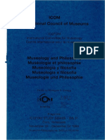 ISS 31 (1999) - Museology and Philosophy