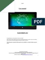 Tab-p1006w en User Manual