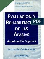Cuetos Vega. Evaluacion y Rehabilitacion de Las Afasias