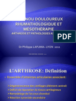Le Genou Douloureux Rhumathologique Pl