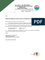 Surat Permohonan Sumbangan
