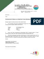 Surat Jemputan Pertandingan Futsal