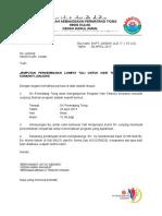 Surat Jemputan Lompat Tali Sk Junjong