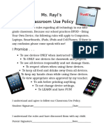 classroom use policy - final form - technology for teachers