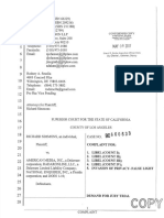 2017-5-8 FILED BC660633 Complaint With Exhibits (1)