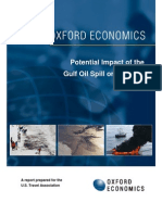 Gulf Oil Spill Analysis Oxford Economics 710