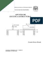 Apuntes de Estática Estructural. 1º Edición. (F. Monroy).pdf