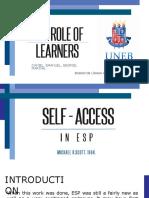 Self-Access Presentation