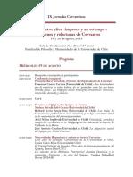 IXJC. Programa