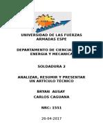 Resumen Articulo Sold Ausay Caguana