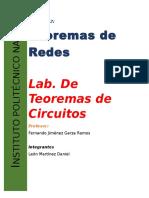 DT. Circuitos Practica 2 Teorema de Thevenin