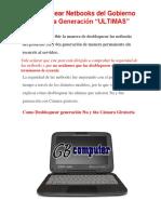 Desbloquear Netbook 5ta y 6ta Generacion