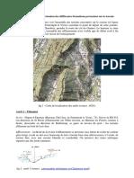 identification des terrains géologiques
