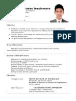 Templonuevo-Mark Franz G-Resume.docx