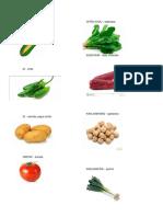 Verduras en Kaqchikel