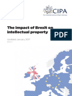 The Impact of Brexit on IP v4