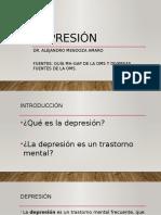 Depresión Día Mundial de la Salud