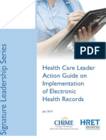 Action Guide on Implementation of EHRs