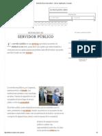 Definición de Servidor Público - Qué Es, Significado y Concepto