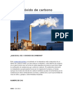 Dióxido de Carbono-trabajo de Ergonomia