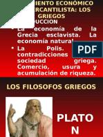 1. Pensamiento Griego y Escolastico
