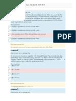 Quiz 1 Matematica Financiera