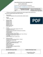 dokumen mutu (instruksi kerja, SOP, Formulir)