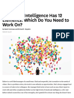Emotional Intelligence Has 12 Elements