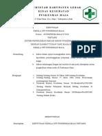 SK Ttg Kode Klasifikasi Diagnosis