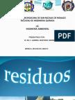 Tema 3.- Lic. Ing. q. Residuos Solidos